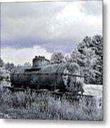 Old Rusty Tanker 3 Metal Print