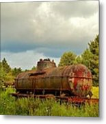 Old Rusty Tanker Metal Print