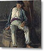 Old Sailor Wearing A Beret, 1889 Metal Print