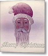 Old Saint Nicholas Greeting Card Metal Print