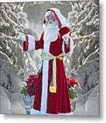 Old Saint Nick Metal Print
