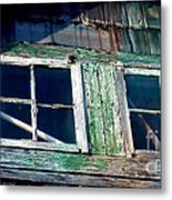 Old Salt Window Metal Print