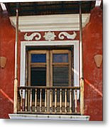 Old San Juan Balcony Metal Print