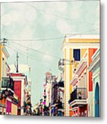 Old San Juan Special Request Metal Print