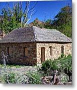 Old Sandstone Brick Farm House Nine Mile Canyon - Utah Metal Print