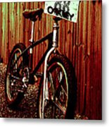 Old School Bmx - Jag Metal Print