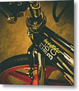 Old School Cool Bmx - 1 Metal Print by Jamian Stayt