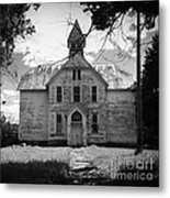 Old School House Metal Print