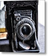 Old School Photography Metal Print