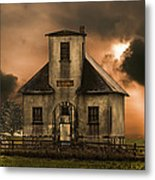 Old School Wayne County Oh Metal Print