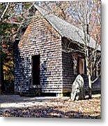 Old Schoolhouse Building Metal Print