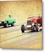Old Scool Racing Metal Print