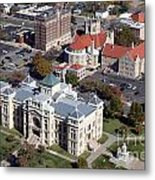 Old Sedgwick County Courthouse In Wichita Metal Print