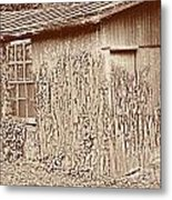 Old Shed Metal Print