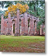 Old Sheldon Chruch Metal Print