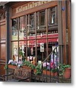 Old Shop Hamburg Metal Print