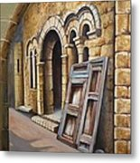 Old Spanish Monastery Metal Print by Rich Kuhn