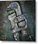 Old Spanner Metal Print