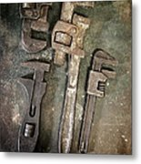 Old Spanners Metal Print