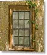 Old St Augustine Window Metal Print