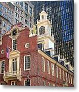 Old State House Metal Print