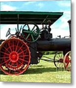 Old Steam Engine Metal Print