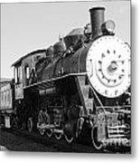 Old Steam Engine Metal Print
