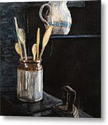 Old Still Life Metal Print