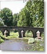 Old Stone Arch Bridge Metal Print