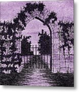 Old Stone Archway  Metal Print