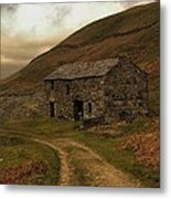 Old Stone Barn Metal Print