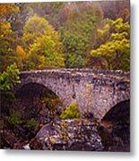 Old Stone Bridge. Scotland Metal Print