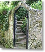 Old Stone Gate Metal Print