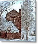 Old Stone House Metal Print