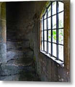Old Stone Staircase Metal Print