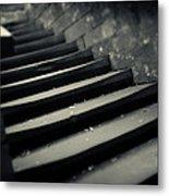 Old Stone Stairway Metal Print
