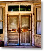 Old Store Front Metal Print