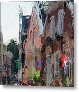 Old Street Cafe Metal Print