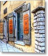 old street Tallin Metal Print