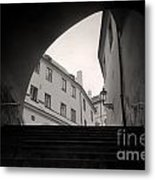 Old Streets In Prague Metal Print