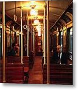 Old Subway In Buenos Aires Metal Print
