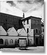 Old Synagogue And Jewish City Of Krakow Museum Kazimierz Krakow Metal Print by Joe Fox
