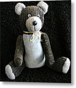 Old Teddy Bear Veijo Metal Print
