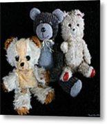 Old Teddy Bears Metal Print