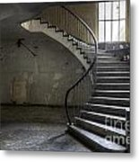 Old Theater Stairs Metal Print