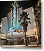 Old Theatre In Roseville California...  Metal Print by Israel Marino