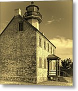Old Time East Point Light Metal Print
