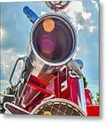 Old Time Fire Truck Series Metal Print by Kelly Kitchens