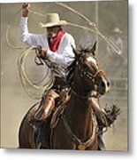 Old Time Ranch Rodeo Metal Print