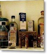 Old-time Remedies Metal Print